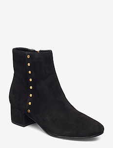 Wharton Suede Boot - BLACK
