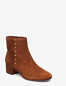 Wharton Suede Boot - WHISKEY