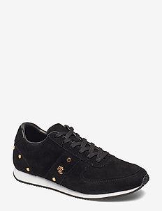 Canonbury Suede Sneaker - BLACK