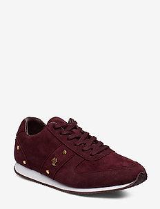 Canonbury Suede Sneaker - BORDEAUX