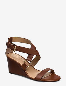 Chadwell Leather Sandal - DEEP SADDLE TAN