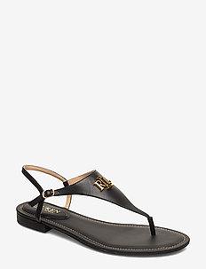 Ellington Leather Sandal - flate sandaler - black