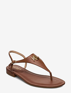 Ellington Leather Sandal - DEEP SADDLE TAN
