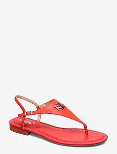 Ellington Leather Sandal - flate sandaler - sporting red