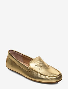 Bartlett Leather Flat - loafers - gold rush