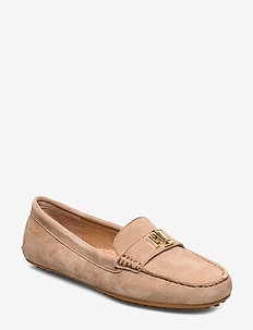 Barnsbury Suede Loafer - loafers - khaki