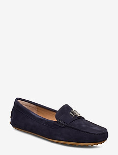 Barnsbury Suede Loafer - LAUREN NAVY