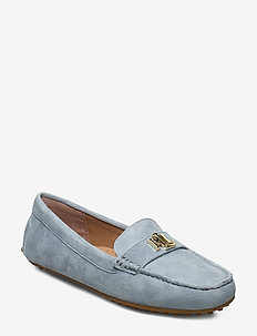Barnsbury Suede Loafer - loafers - sky