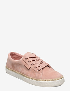 Jaycee Suede Sneaker - BALLET SLIPPER