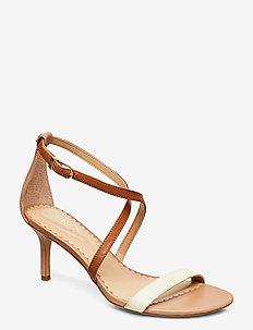 Leaton Leather Sandal - korolliset sandaalit - nude/vanilla/deep
