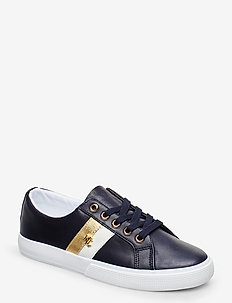 Janson II Leather Sneaker - LAUREN NAVY/OPTIC