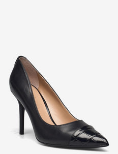 Lindella Leather Pump - klassiska pumps - black