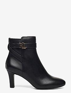 Arianne Leather Bootie - stiefeletten mit absatz - black