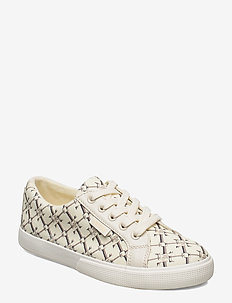 Jaycee Canvas Sneaker - low top sneakers - vanilla heritage
