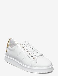 Angeline II Metallic Sneaker - lave sneakers - white/rlgold