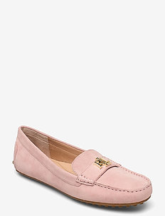 Barnsbury Suede Loafer - loafers - dusty pink