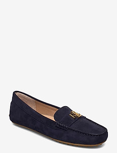 Barnsbury Suede Loafer - loafers - lauren navy w/ go