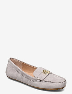 Barnsbury Suede Loafer - loafers - light grey