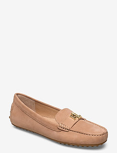 Barnsbury Suede Loafer - loafers - nude