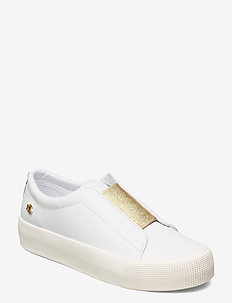Isla Action Leather Platform Sneaker - low top sneakers - rl white/modern g