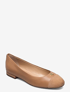 Gaines Nappa Leather Flat - ballerines - nude/nude