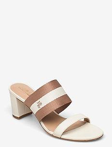 Whitfield Woven Nappa Leather Sandal - mules & slipins - vanilla/nude/vani