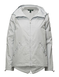 POLYESTER-SYNTHETIC COAT - LIGHT SILVER