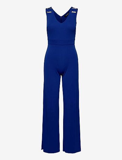 Jersey Sleeveless Jumpsuit - kleidung - sapphire star