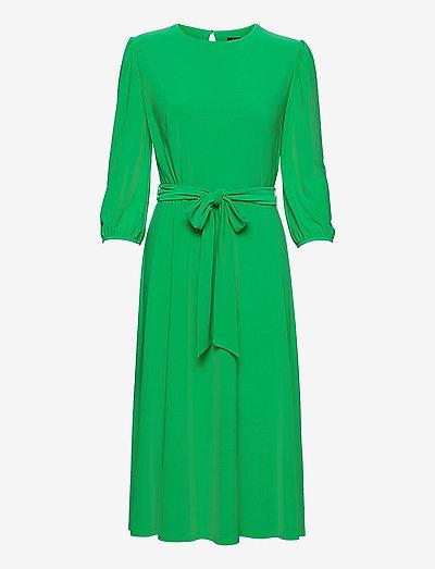 Blouson-Sleeve Jersey Dress - cocktailkjoler - stem