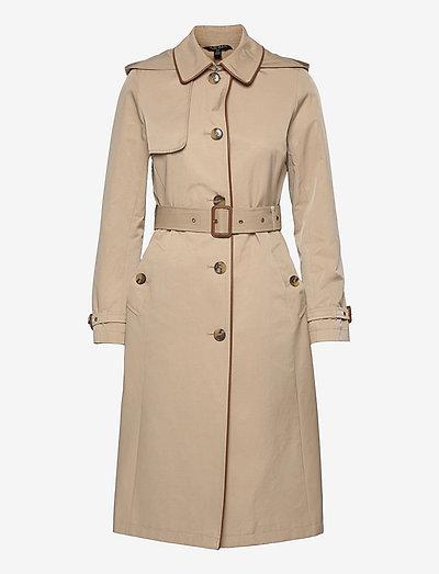 Maxi Trench Coat - trenchcoats - beige
