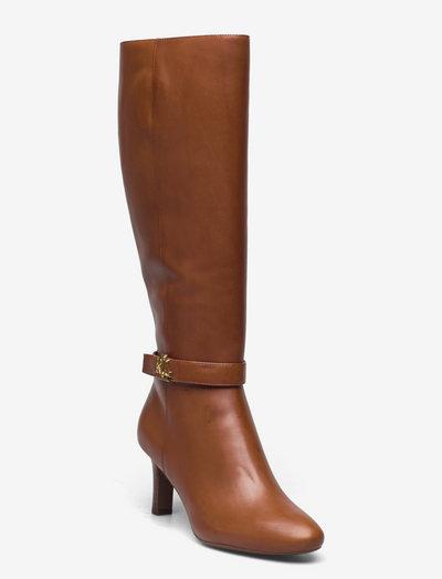 Ardington Leather Dress Boot - garie zābaki - deep saddle tan