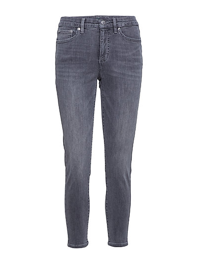 ULTIMATE STR BLKO/D-SKINNY ANKLE - SLATE WASH