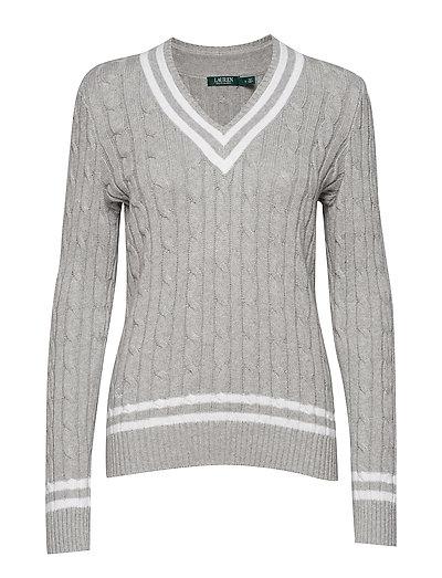 Cotton Cricket Sweater - PEARL GREY HEATHE