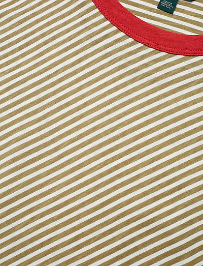 Slub Knit Jersey Tee Light Agave Masca 34 50 Lauren