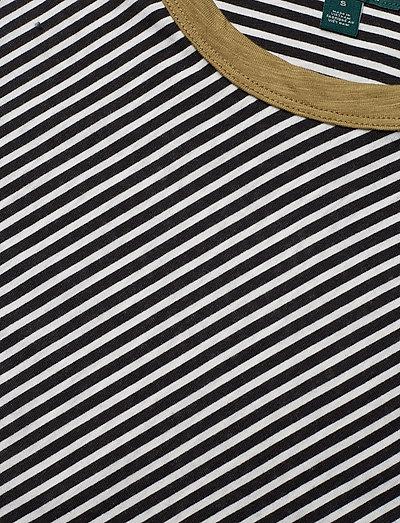 Slub Knit Jersey Tee Polo Black Mascar 89 Lauren