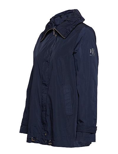 Nouveaux produits db7a1 85f61 Faux Memory-femme Collar Anorak (Navy) (£74.25) - Lauren ...