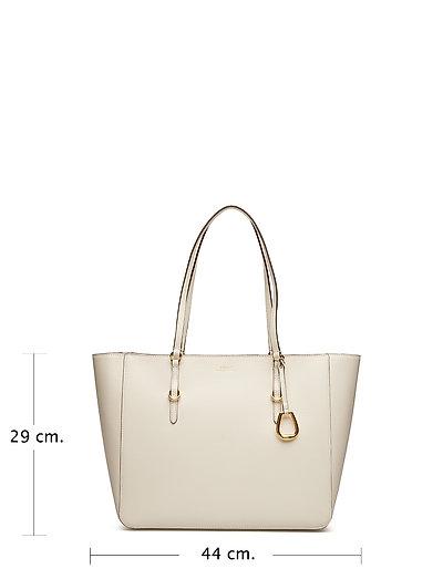 42d011febe Saffiano Leather Tote (Vanilla) (£245) - Lauren Ralph Lauren ...