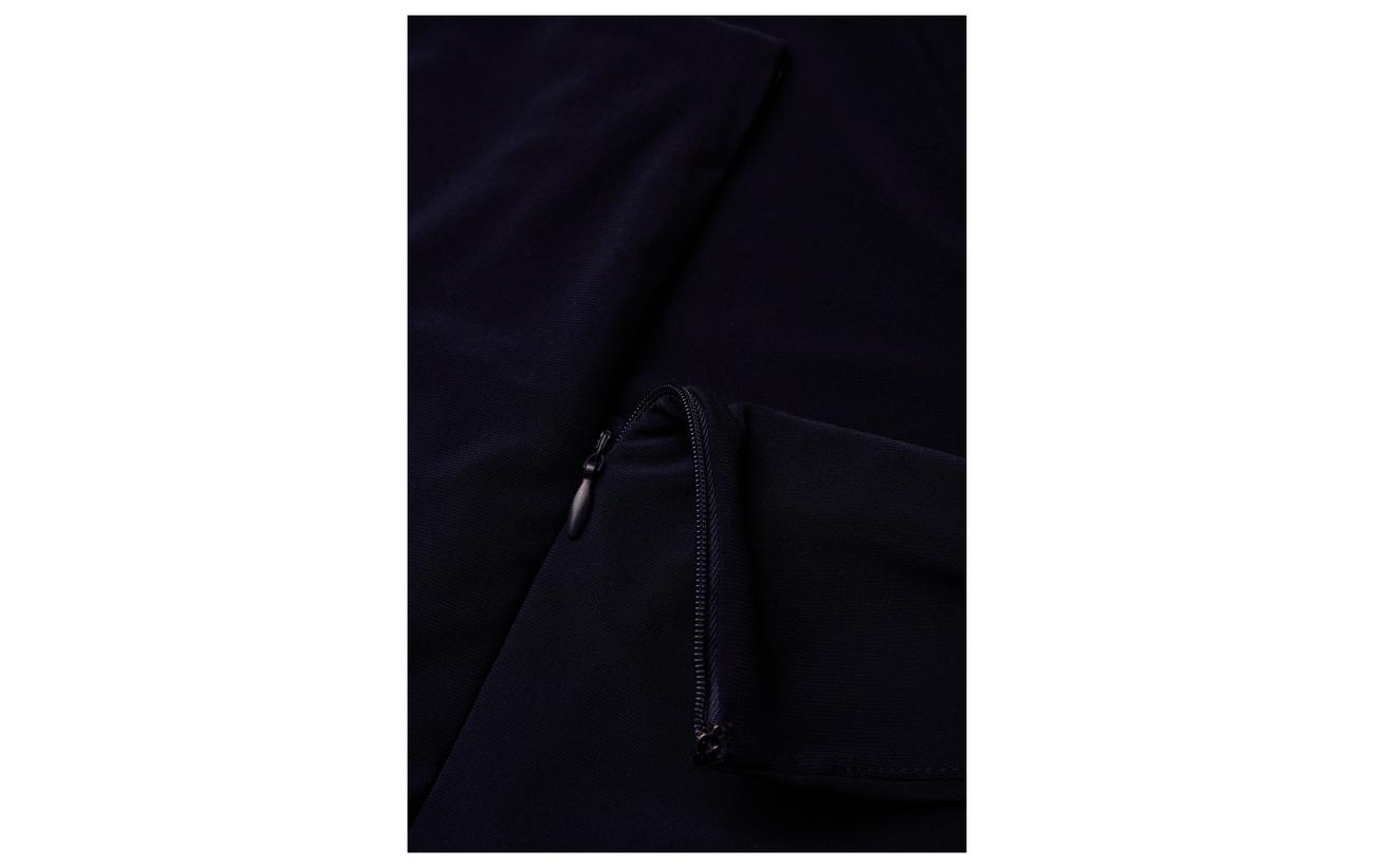 Plus Navy Lauren Polyester size Taffeta 95 5 Dress Lighthouse jersey Elastane Women Hxq5a