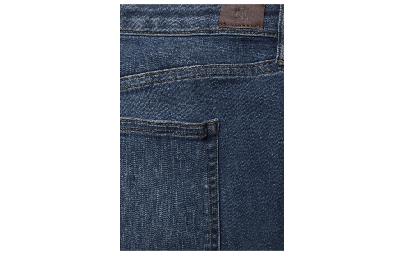 15 Polyester Lauren straight Women Wash Indigo Coton Str 83 Elastane Harbor Ultimate Jean 2 Iv1qrPd1n