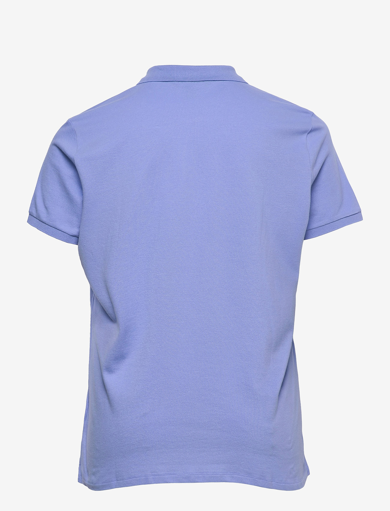 Lauren Women - Stretch Piqué Polo Shirt - polohemden - cabana blue - 1