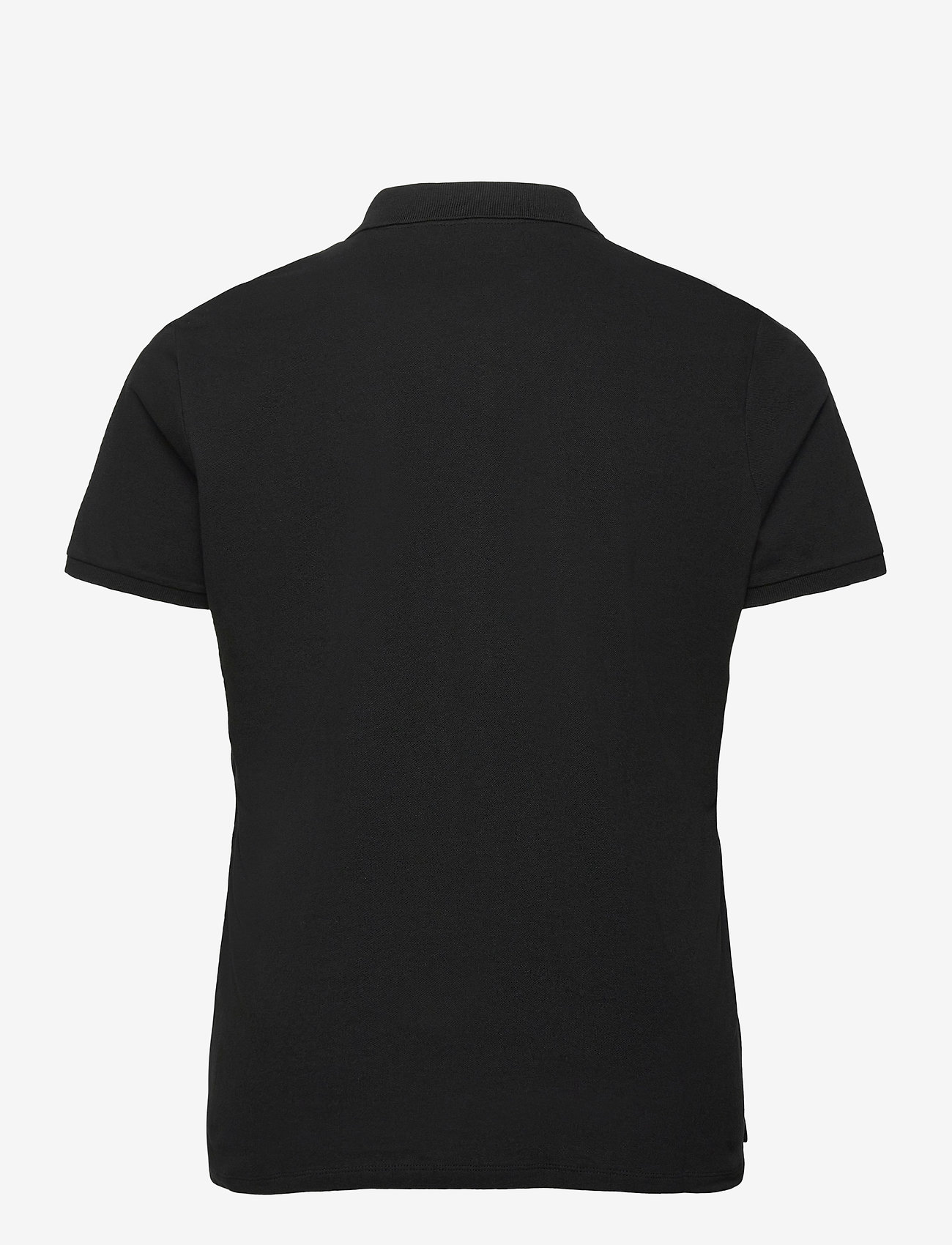 Lauren Women - Stretch Piqué Polo Shirt - poloskjorter - polo black - 1