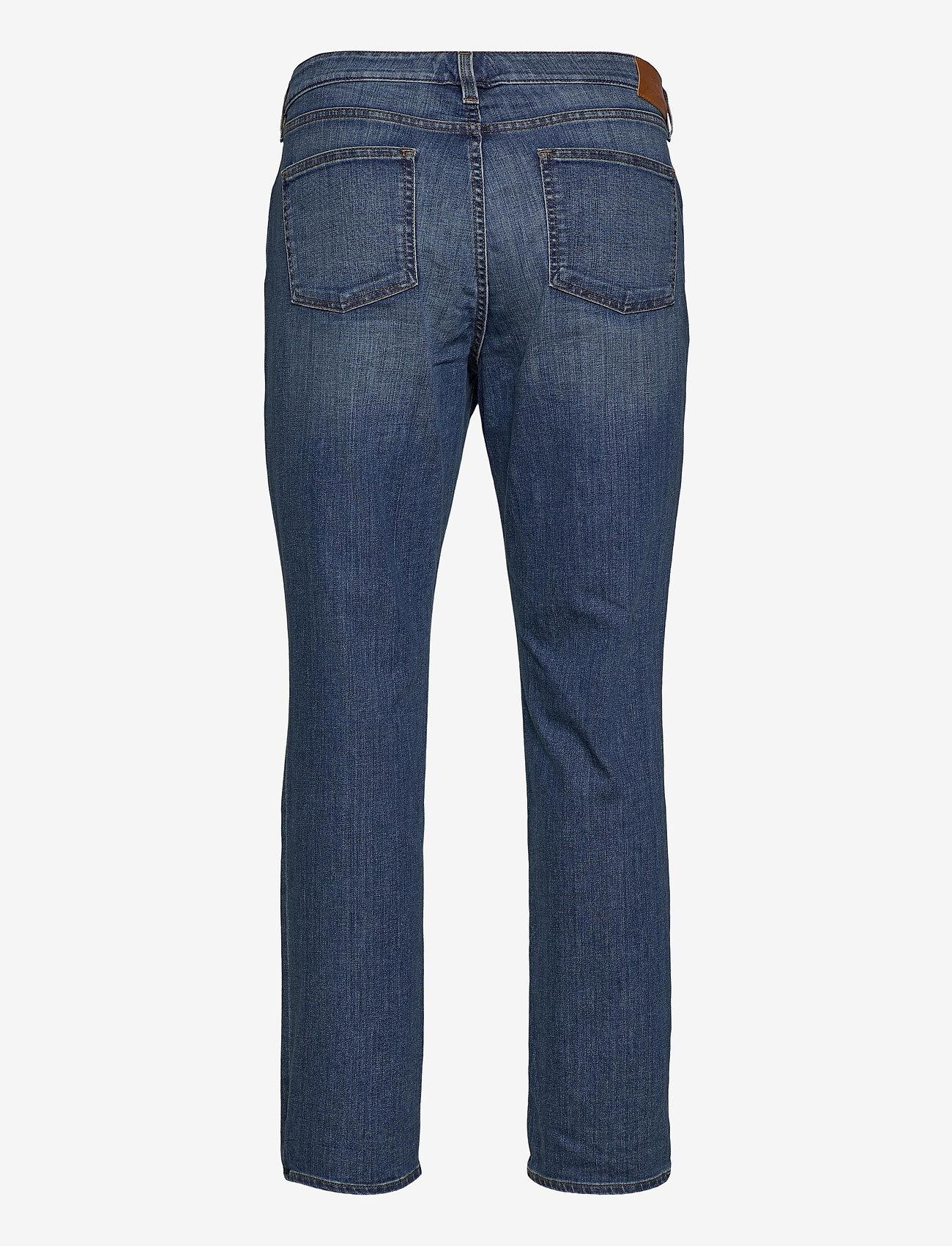 Lauren Women - SPR STR INDIGO DNM-JEAN - straight jeans - ocean blue wash d - 1