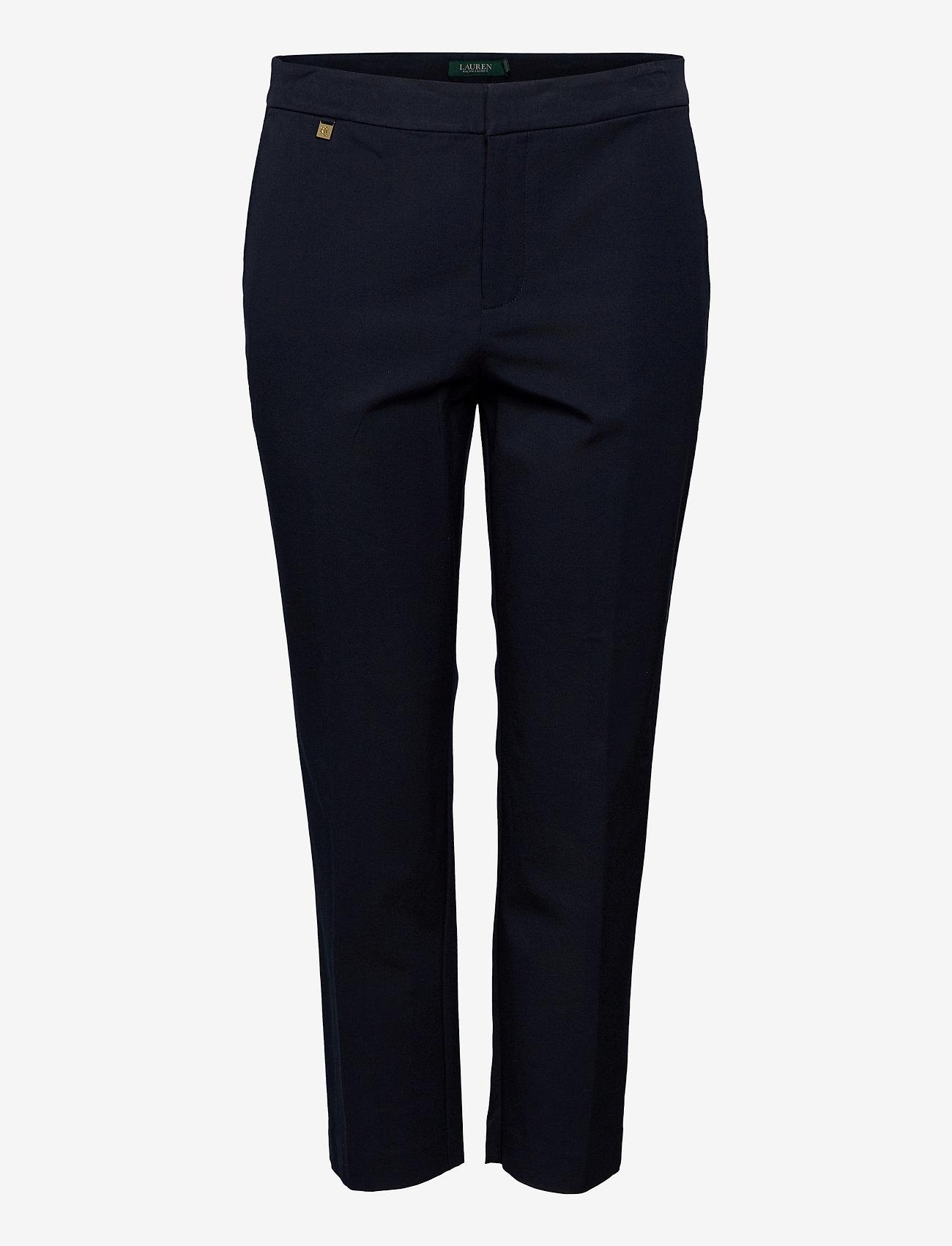 Lauren Women - Cotton Twill Skinny Pant - broeken med skinny fit - lauren navy - 0