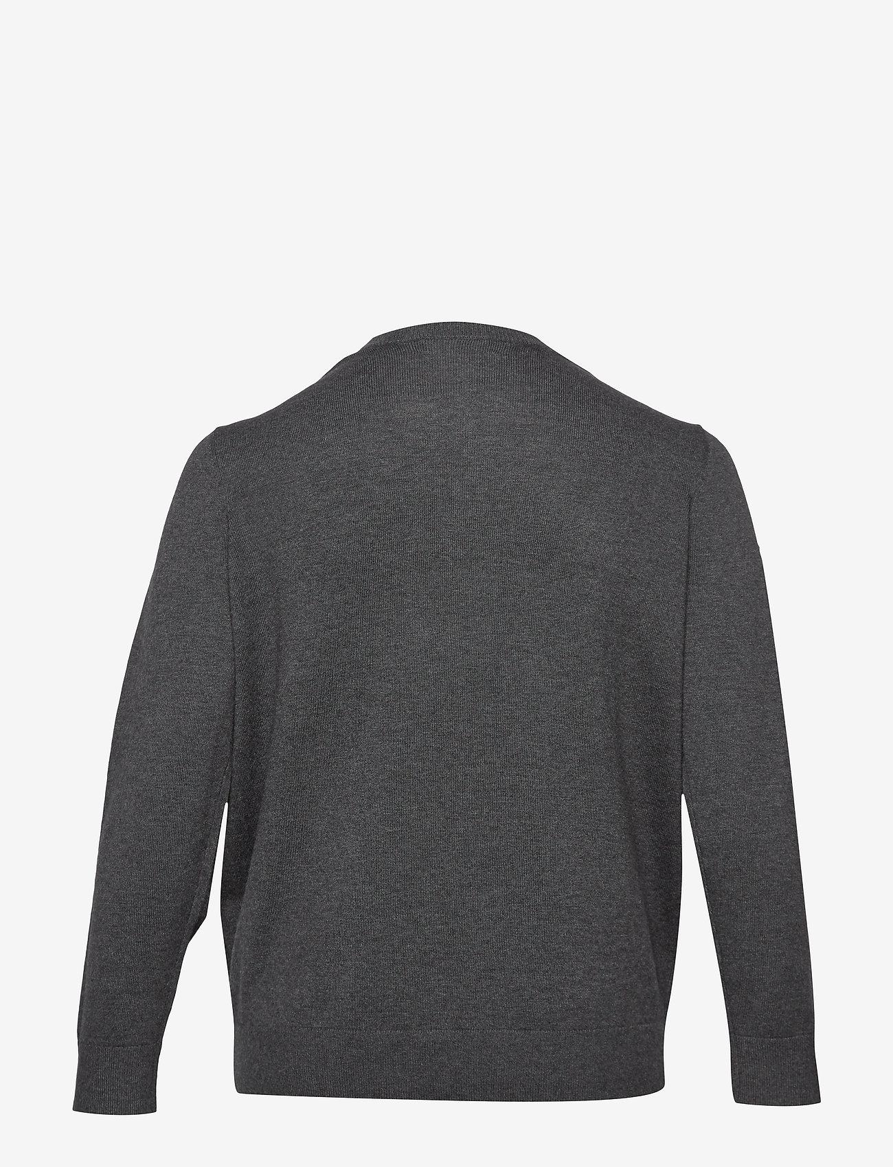 Lauren Women Naveela-long Sleeve-sweater - Stickat Madison Grey Heat