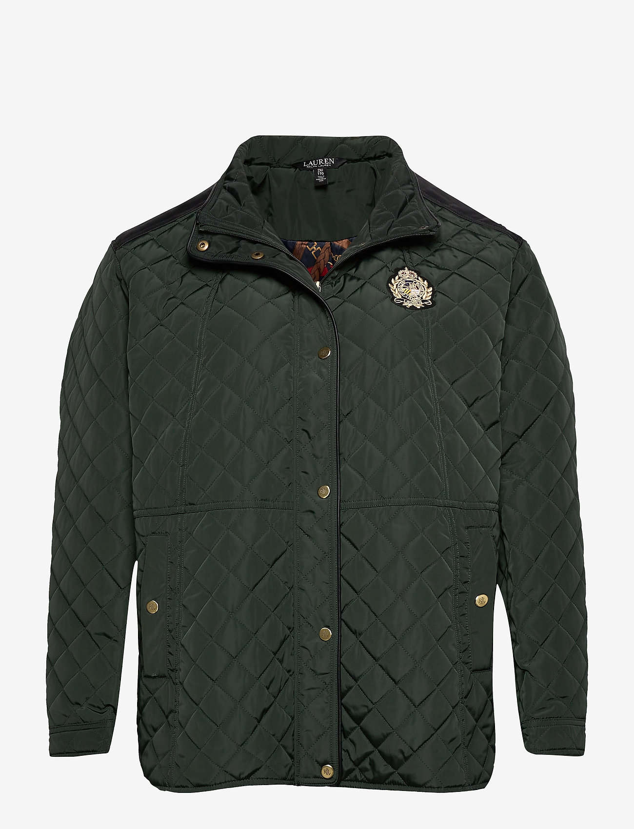 Lauren Women - Quilted Jacket - quiltede jakker - hunter green - 0