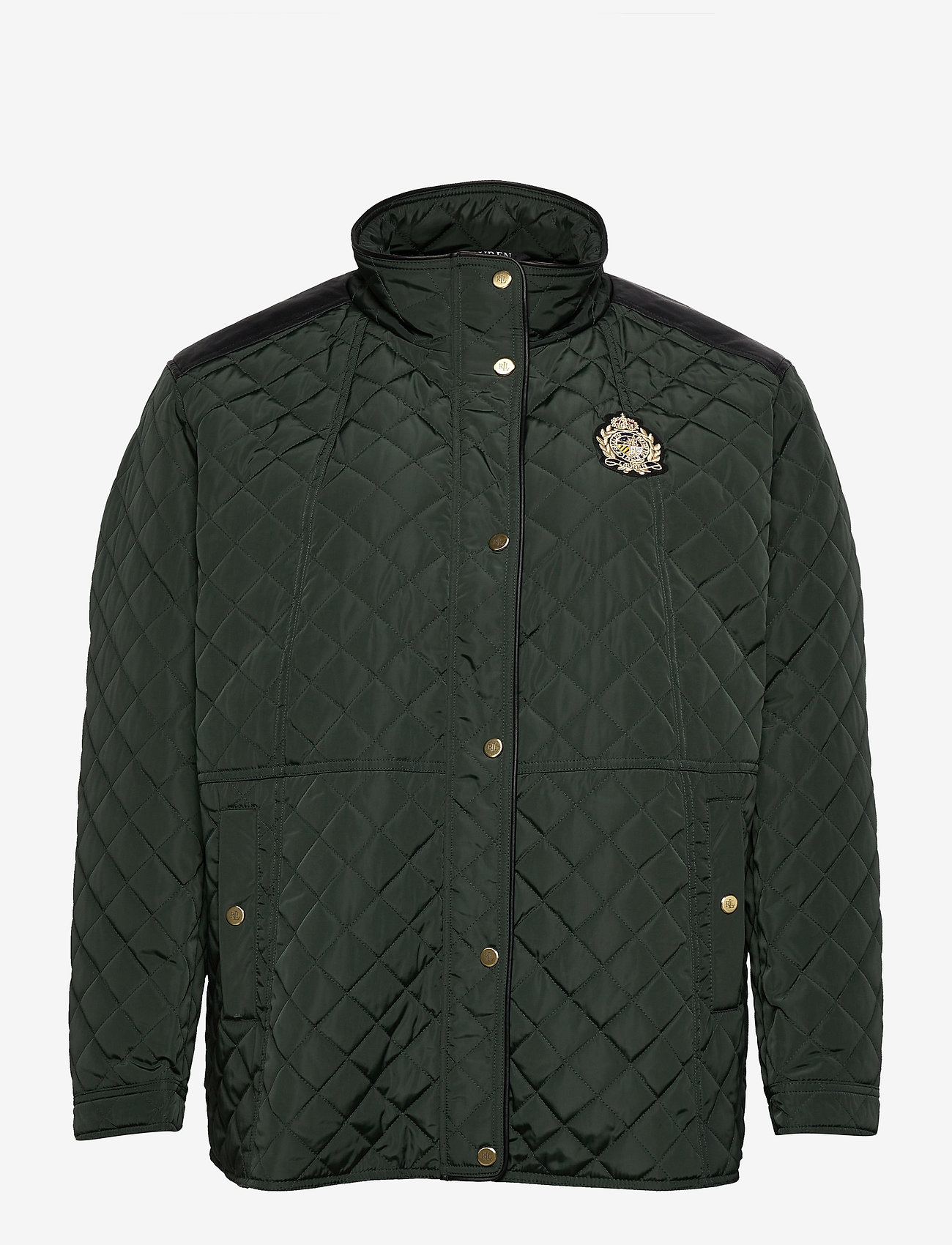 Lauren Women - Quilted Jacket - quiltede jakker - hunter green - 1