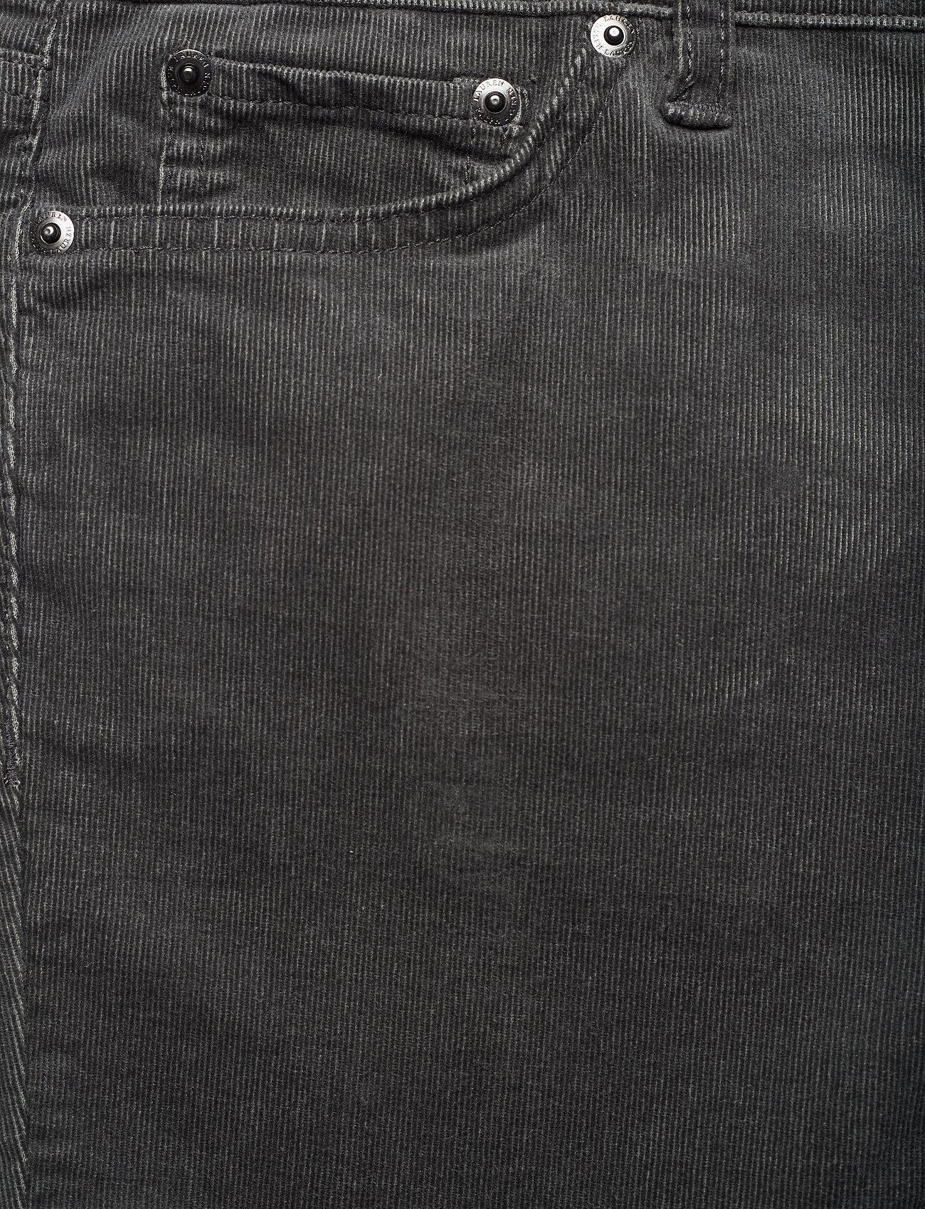 Lauren Women PRM STRAIGHT-SKINNY-PANT - Spodnie LEXINGTON GREY HE - Kobiety Odzież.