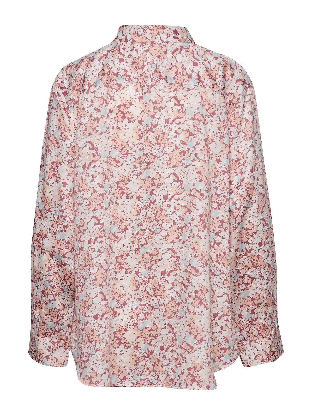 Raspberry Sleeve long shirtdark Jamelko MuLauren Women 8nwO0Pk