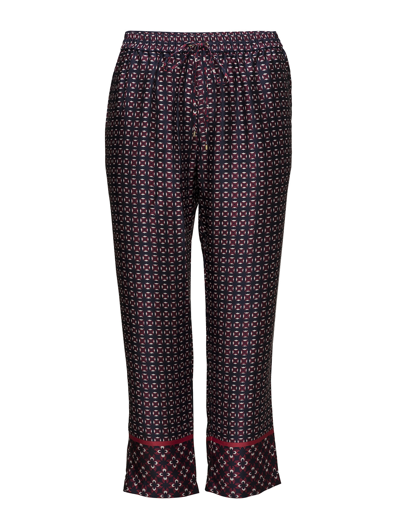 Lauren Women Geometric-Print Twill Pant - MULTI