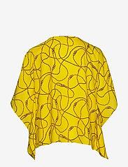 Lauren Women - Print Cape-Sleeve Top - langærmede bluser - dandelion fields - 1
